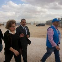 Syrian Refugees Camp Zataari
