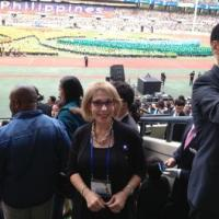 Sally Kader in SDouth Korea Summit